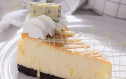 white chocolate topping for cheesecake